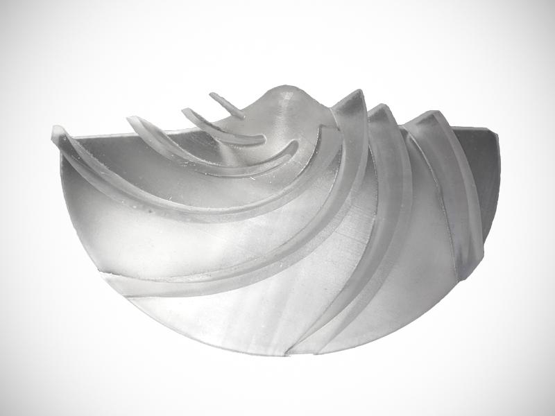 impresion 3d resina impeller